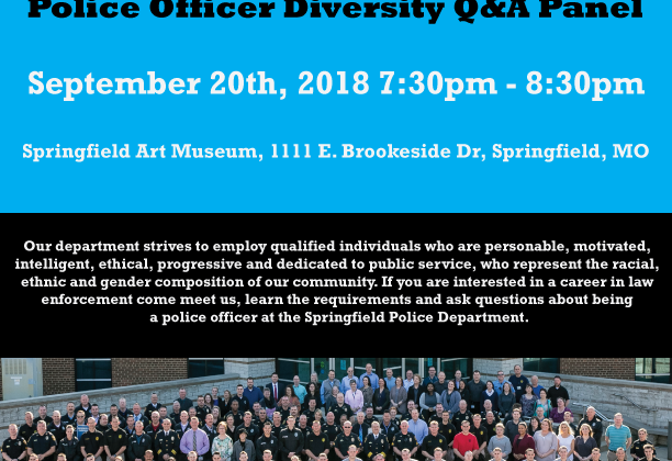 Police Officer Diversity Q&A Panel