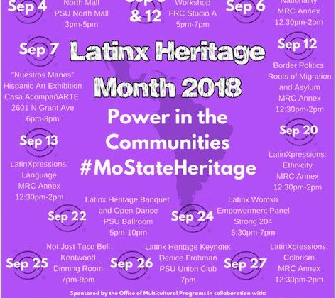 Latinx Heritage Month 2018: Power in the communities