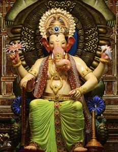 Picture of Lalbaugh Ganesha