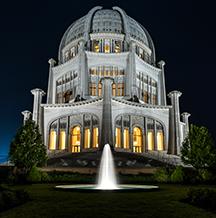 Photo of a Baha'i House of Worship