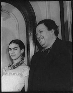 Portrait of Diego Rivera and Frida (Kahlo) Rivera
