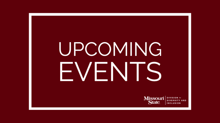 Upcoming Events with DDI logo image