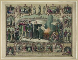 Image of the Life of Martin Luther and the heroes of the reformation