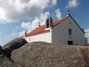 Photo of St. Andrew's chapel at St. Andrew's cape in Portugal