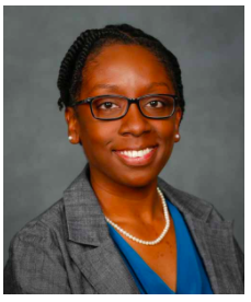 Photo of Dr. LaToya Kissoon-Charles of the CNAS Biology department