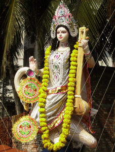 Photo of Saraswati with Vitarka Mudra