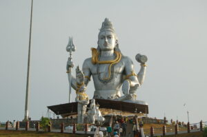 Photo of a Lord Shiva statue