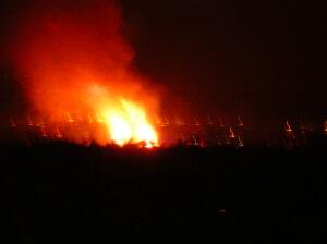 A bonfire for Beltane