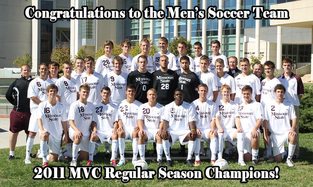 Men's Soccer 2011 MVC Regular Season Champs