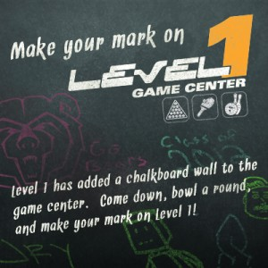 Level ! Chalking Wall