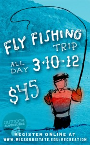 Campus Rec Fly Fishing Trip