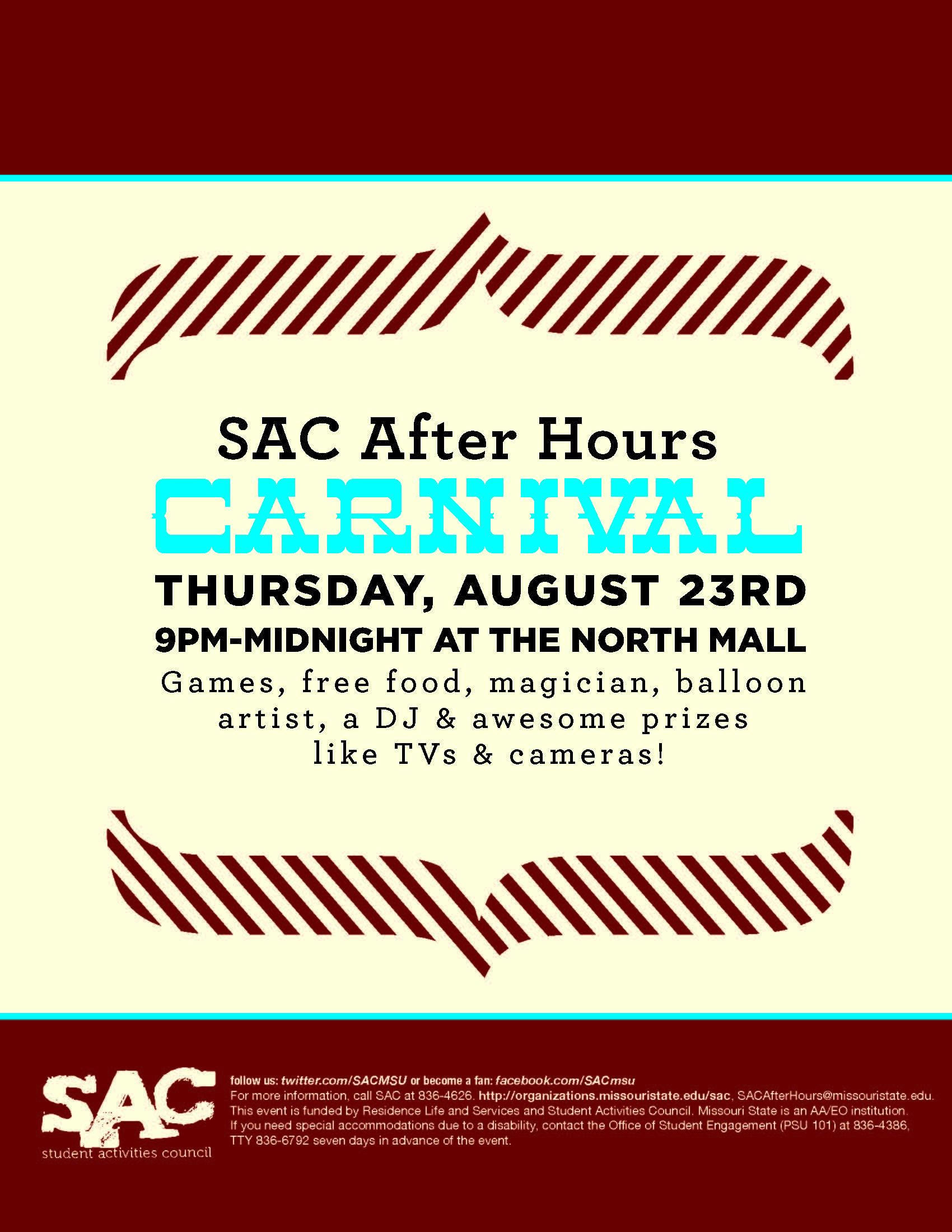 SAC After Hours Carnival