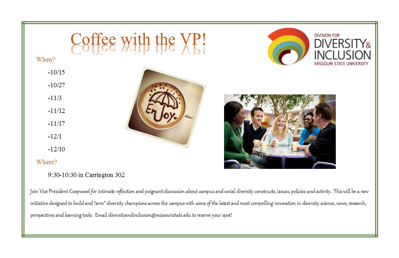 Coffee with the VP Flyer