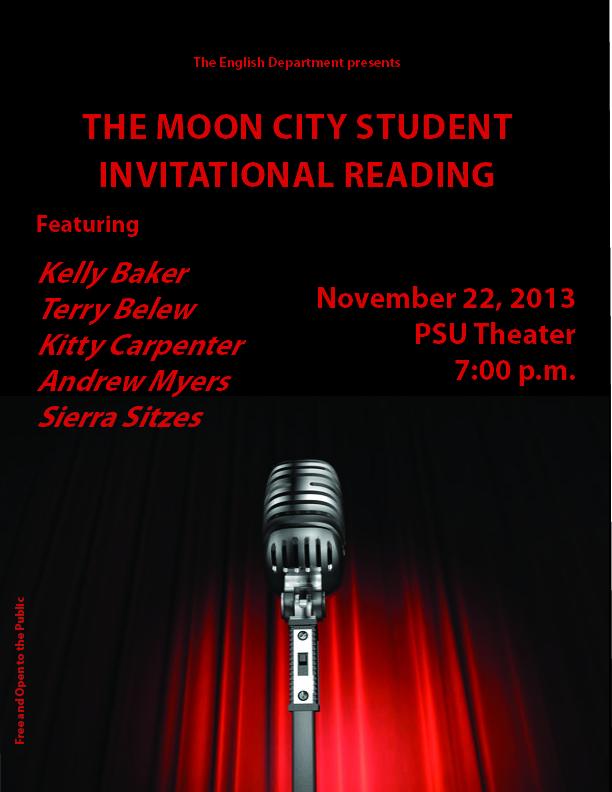 Moon City Student Invitational Flyer