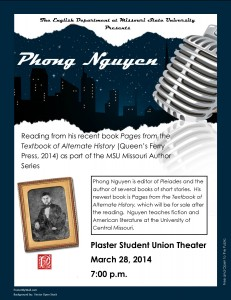 Phong Nguyen Reading flyer