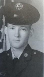 Ralph Davis in his Air Force uniform