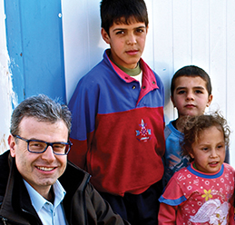 English department head helps Syrian doctor tell his story