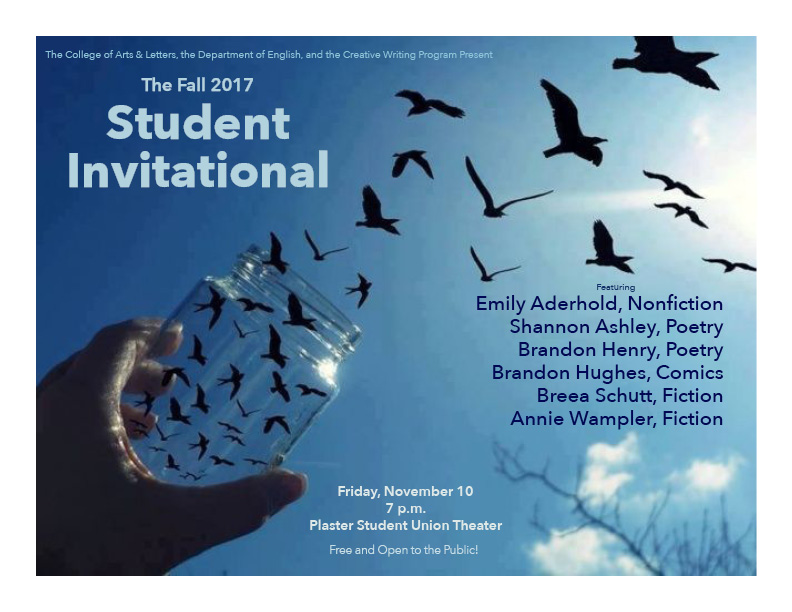 student invitational flyer