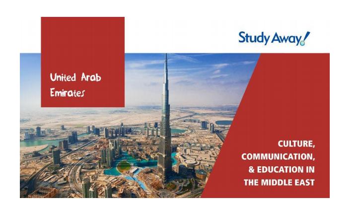 United Arab Emirates Study Away Trip