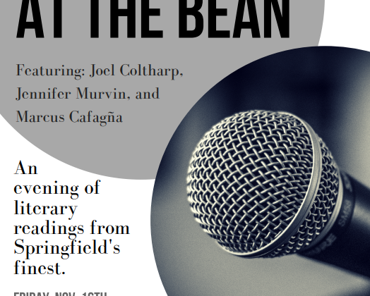 Reading at the Bean this Friday