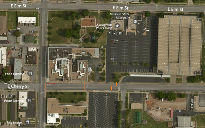 Update to Traffic Signal Replacement, Kimbrough Ave and Cherry Street
