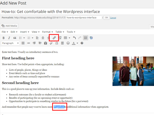 Add New Post ‹ University Blogs — WordPress_8