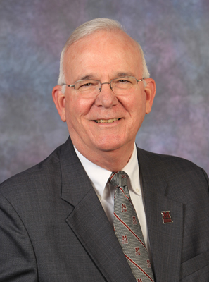 Vice President for Student Affairs, Dr. Earle Doman