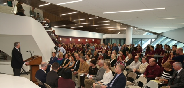 O'Reilly Clinical Health Sciences Center dedication