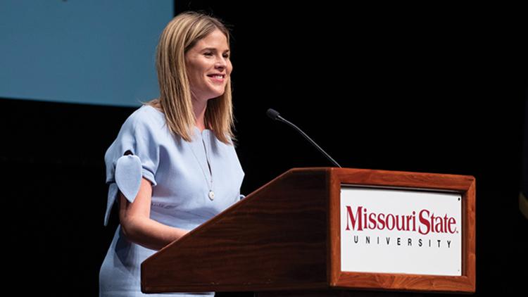 Jenna Bush Hager delivering keynote for Public Affairs Conference
