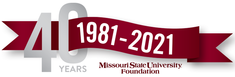 40 Years of Fundraising, 1981-2021.