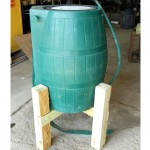 Step 5. Give your rain barrel a lift