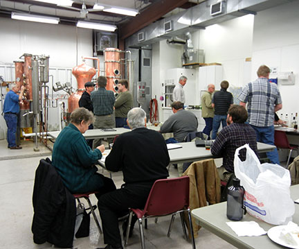 Distillation workshop 2014
