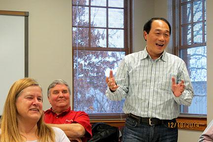 Dr. Hwang livens things up!