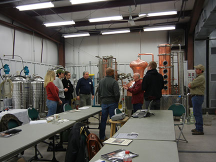 Distillation workshop today