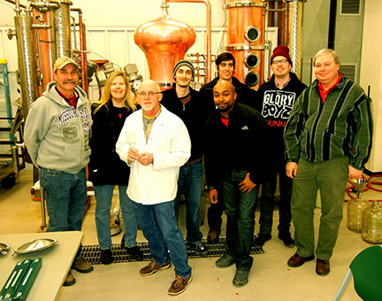 Distillation workshop completed yesterday