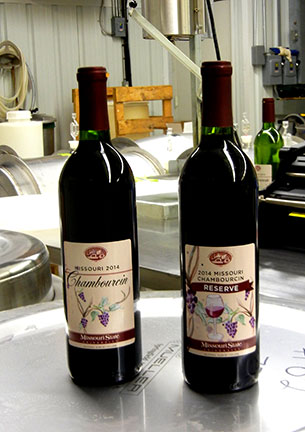 Chambourcin wins big at the Mid-American Wine Competition