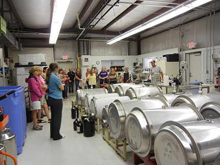 The group then toured the winery.The group then toured the winery.The group then toured the winery.The group then toured the winery.The group then toured the winery.The group then toured the winery.The group then toured the winery.