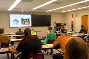 Brenda Paul presented information on mushroom preservation through freeze drying. She also discussed other methods of food preservation.