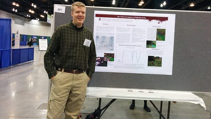 Faculty, students attend national geological meeting