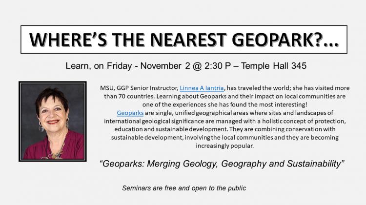 GGP Friday, Nov. 2 Seminar