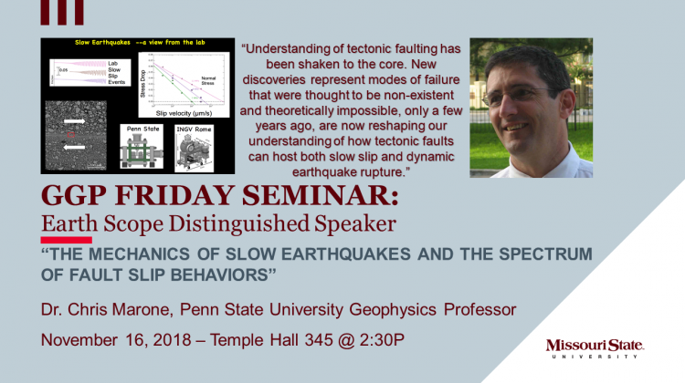 A seminar presentation on the current reshaping of our understanding of how tectonic faults can host both slow slip and dynamic earthquake rupture.