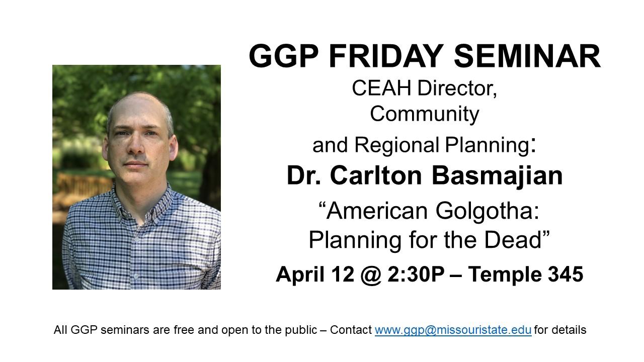 Friday GGP Seminar will be a presentation on kraniou topos