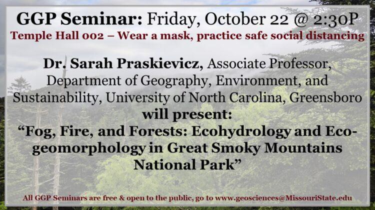 GGP Seminar today at 2:30P