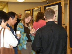 Students present research