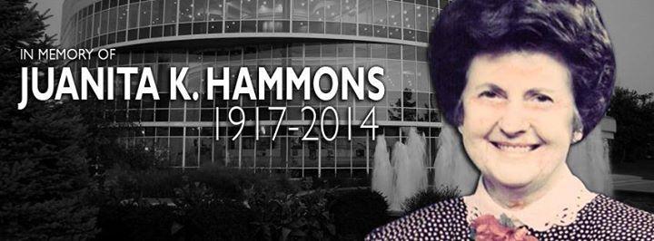 In Memory of Juanita K. Hammons – 1917-2014