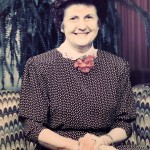 Mrs. Hammons lobby portrait