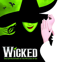 WICKED flies into Juanita K. Hammons Hall in February 2016!