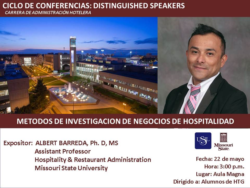 Barreda and conference information