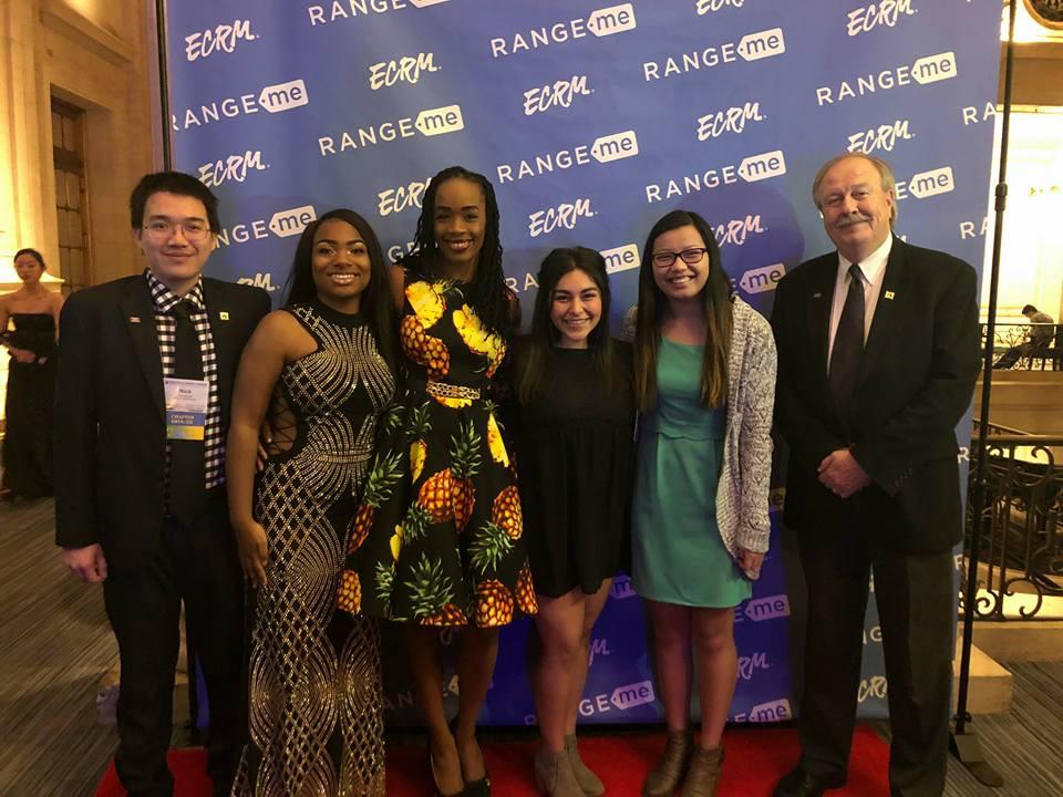 From left to right: Nick Nguyen, Makayla Reynolds, Shani Adams, Idalia Aguilar, Elisa Kelley and Dr. Dan Crafts.
