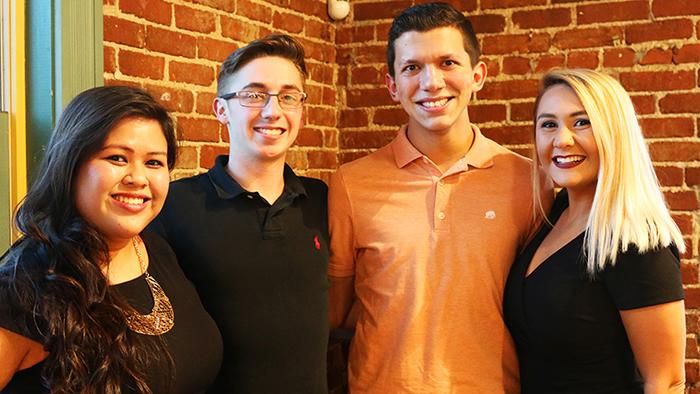 Student PR team from 2017 COMWeek